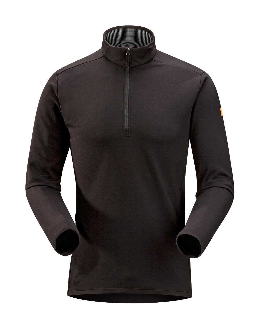 Arcteryx Black Phase SV Zip Neck LS