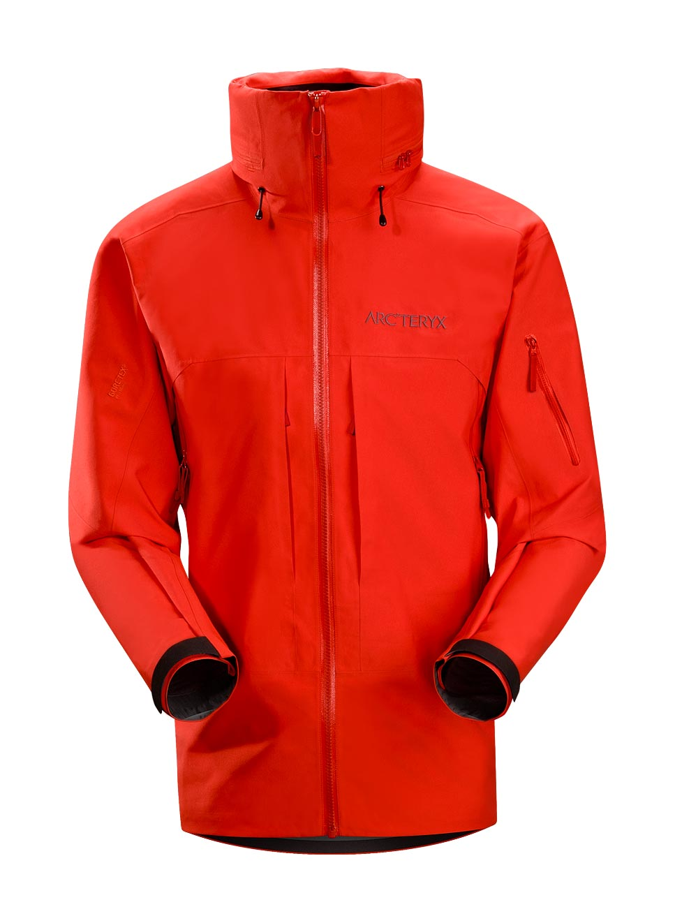 Arcteryx Road Rash Red Vertical Jacket