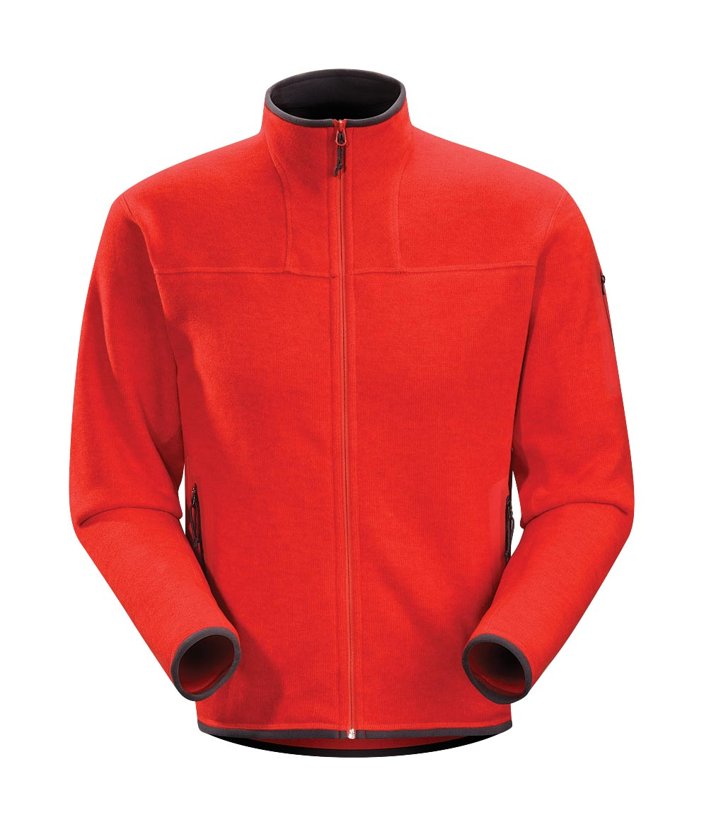 Arcteryx Road Rash Red Covert Cardigan